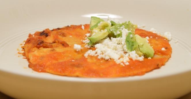 Entomatadas (Tomato Enchiladas)